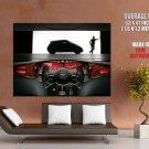 Nissan Mixim Future Concept Car Huge Giant Print Poster