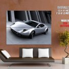 Panthera Silver Future Concept Car Huge Giant Print Poster