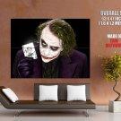 Heath Ledger Joker Batman Dark Knight Huge Giant Print Poster