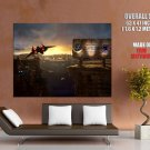 Welcome To Adcalmahr Mining Station Art Huge Giant Print Poster