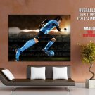 Lionel Messi Dribbling Football Sport Huge Giant Print Poster