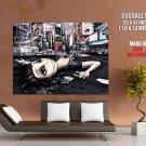 User Offline Dead Emo Girl New York Huge Giant Print Poster