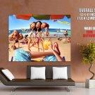 Resort Sea Beach Sand Cocktail Girls Huge Giant Print Poster