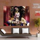 Geisha Japanese Girl Rendering Art Huge Giant Print Poster