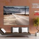 Usa Dust Valley Hills Landscape Huge Giant Print Poster
