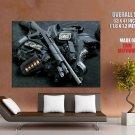 Swat Equipment Shotgun Weapon Huge Giant Print Poster