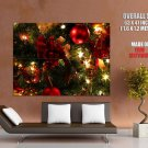 Christmas Ornaments Decorations Huge Giant Print Poster