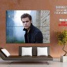 Paul Wesley Stefan Salvatore Vampire Huge Giant Print Poster