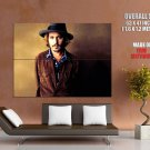Johnny Depp Hat Actor Male Huge Giant Print Poster
