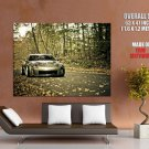 Nissan 350 Z Autumn Fall Car Auto Huge Giant Print Poster
