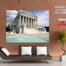 Equal Justice Under Law City Usa Huge Giant Print Poster