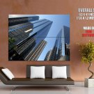 New York City Usa Skyscrapers Huge Giant Print Poster