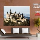 Great Medieval Castle Europe HUGE GIANT Print Poster