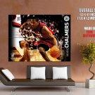 Mario Chalmers Miami Heat Nba 2011 Huge Giant Print Poster