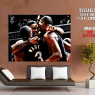 Wade James Bosh Miami Heat Huge Giant Print Poster