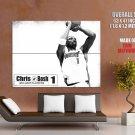 Chris Bosh Miami Heat Nba Huge Giant Print Poster