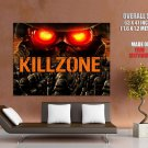 Killzone Black Troopers Video Game Huge Giant Print Poster