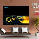 Clu Tron Yellow Light Cycles Movie Huge Giant Print Poster
