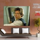 Han Solo Harrison Ford Star Wars Huge Giant Print Poster