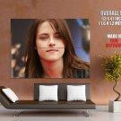 Kristen Stewart Cute Sweet Actress HUGE GIANT Print Poster