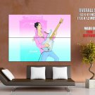 Prince Painting Greatest Guitarists HUGE GIANT Print Poster