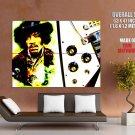 Jimi Hendrix Greatest Guitarists HUGE GIANT Print Poster