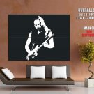 Kirk Hammett BW Metallica Guitarists HUGE GIANT Print Poster