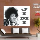 Jimi Hendrix BW Greatest Guitarists HUGE GIANT Print Poster