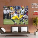 Jordy Nelson Tampa Bay Packers Nfl Huge Giant Print Poster