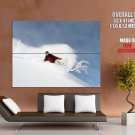 Snowboarding Extreme Sport HUGE GIANT Print Poster