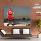 Dwyane Wade Miami Heat Nba Huge Giant Print Poster