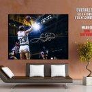 Larry Bird Sign Boston Celtics Nba Huge Giant Print Poster