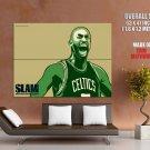 Kevin Garnett Boston Celtics Nba Huge Giant Print Poster