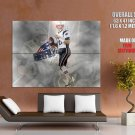Tom Brady New England Patriots Nfl Huge Giant Print Poster