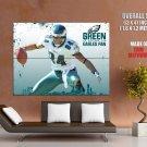 Hank Baskett Philadelphia Eagles NFL HUGE GIANT Print Poster