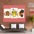 Happy Meal Fast Food Cool Art Huge Giant Print Poster