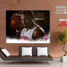 Jason Maxiell Detroit Pistons Nba Huge Giant Print Poster