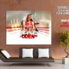 Greg Oden Trailblazers Nba Huge Giant Print Poster