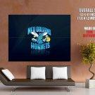 New Orleans Hornets Logo Nba Huge Giant Print Poster