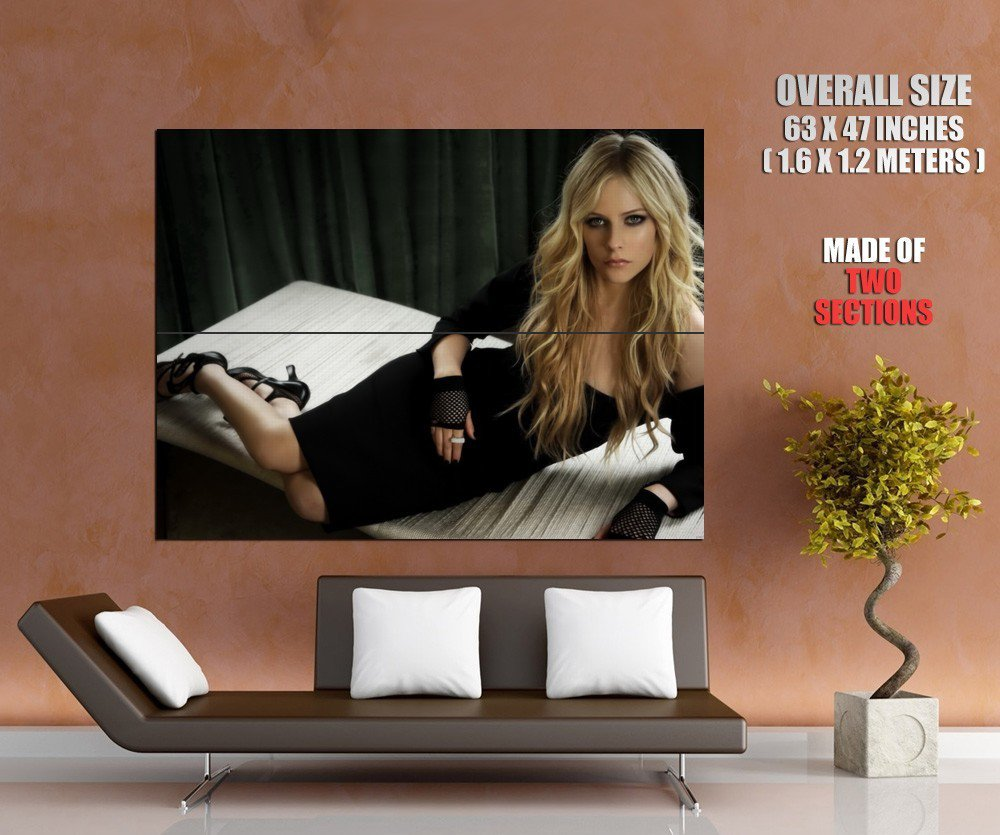 Avril Lavigne Hot Sexy Music New Huge Giant Print Poster