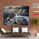 Eva Mendes Sexy Campari Print Huge Giant Poster