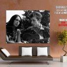 Joan Baez Bob Dylan Music Singer Rock Huge Giant Print Poster