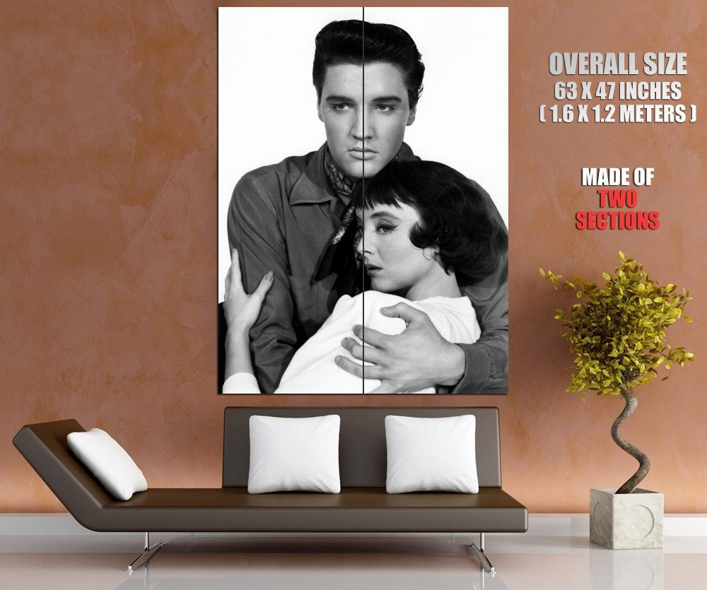 Rock And Roll Actor Elvis Presley Singer Huge Giant Print Poster
