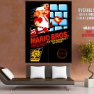 Game Nintendo Super Mario Brother Huge Giant Print Poster