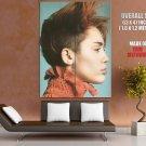 Singer Miley Cyrus Music Rock Pop Huge Giant Print Poster
