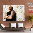 Funny People Singer Eminem Huge Giant Print Poster