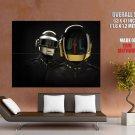 Music House Techno Funk Daft Punk Huge Giant Print Poster