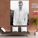 Justin Timberlake Actor Singer Pop Hip Hop Runner Runner Huge Giant Print Poster