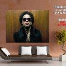 Lenny Kravitz Singer Guitarist Rock Hard Soul Huge Giant Print Poster