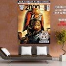 Judge Dredd Red Seas Staoag 666 Huge Giant Print Poster
